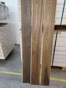 Haro Professional Parquet Plank Flooring - 7' length - 1050+/- square feet pallet - Ashe Olive Grey