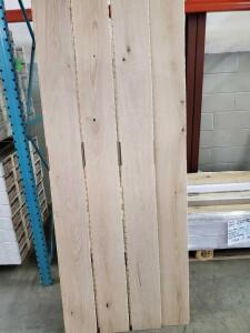 Haro Professional Parquet Plank Flooring - 7' length - 443+/- square feet pallet - Oak Creme White Lime