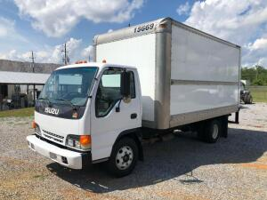 2003 Isuzu NPR Cab Over Box Truck