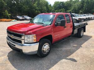 2009 Chevrolet 3500HD Flatbed Truck