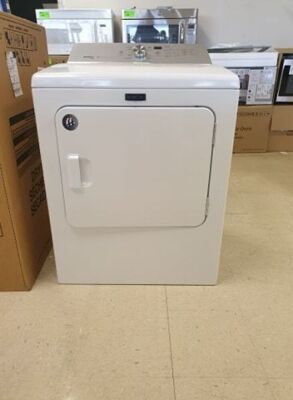 Maytag BravosXL Steam Dryer Model MEDB76FW