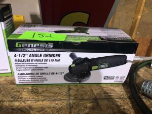 New Genesis 4-1/2in Angle Grinder