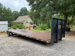 24ft Flatbed Truck Bed with Lift Gate
