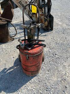 Grease Barrel with Pump