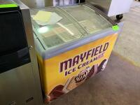 AHT Mayfield Ice Cream Cooler - 2