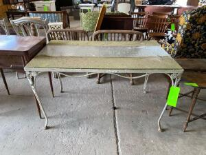 Matching Patio Set - Table and (4) Chairs