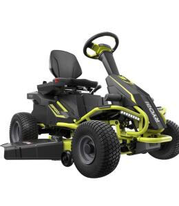 Ryobi Electric/Battery operated ride on Mower with built in battery