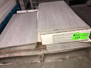 Daltile Taupe Tile approx 45ish sq.ft cannot confirm condition of each piece of tile