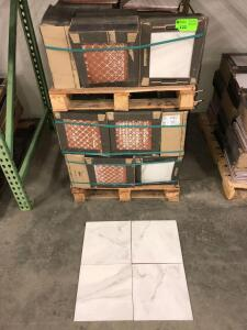 Premium Ceramic HD Aspen Gris (lot 3/3) 22.39ish sq. ft per box, approx (50) boxes cannot confirm condition of each piece of tile