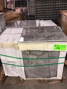 Daltile Storm 17.76ish sq. ft. per box, approx (18) boxes cannot confirm condition of each piece of tile