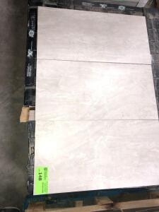 Premium Tile Naples Gris 18ish sq/ft, approx (14) boxes cannot confirm condition of each piece of tile