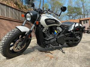 "2019 Indian Scout ""Bobber"" - 70 actual miles!"