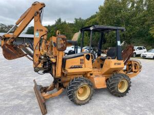 Astec RT 560 Diesel Trencher with backhoe