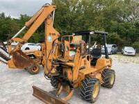Astec RT 560 Diesel Trencher with backhoe - 2
