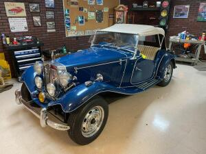 1981 Volkswagon MG 1952 Kit Car