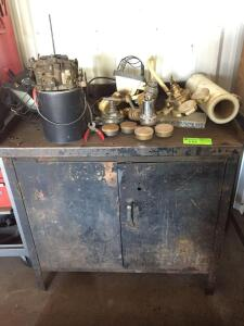 Cabinet with Contents
