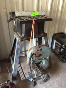 "Central Machinery 10"" Table Saw / Delta 9"" Bandsaw"