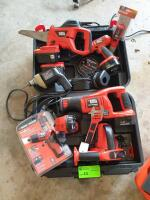 Black & Decker Hand Tools with Case