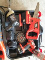 Black & Decker Hand Tools with Case - 6