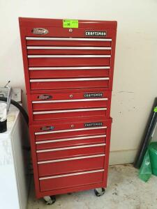 Craftsman 12 drawer Tool Box including all contents