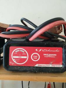 Schumacher 1 Amp Battery Charger with cables