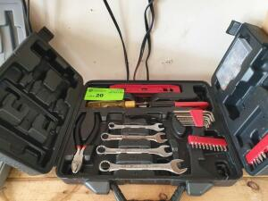 Small Set Home Tools with Case