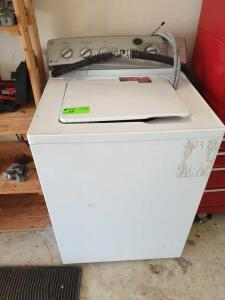GE Profile top load washing machine - not hooked up - condition unknown