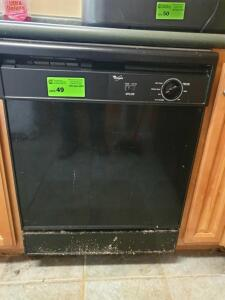 Whirlpool Dishwasher - Condition Unknown - Buyer to Remove