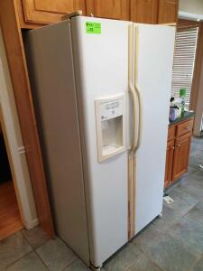 GE-Select Side By Side Refrigerator - Motor is running - Unit doesn't appear to be cooling