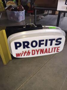 "Dynalilte Electric Sign 34"" x 20'"