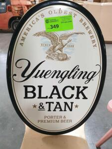 "Yuengling Beer Metal Sign - 12"" Diameter"