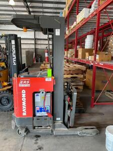 Raymond Electric Picker Forklift with Charger