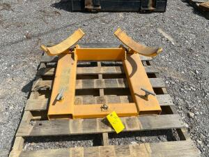 Wesco Fork Mounted Drum Grab - 1,000lb Cap.
