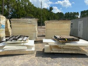 Large Lot - White Insulation Board - (6) Pallets