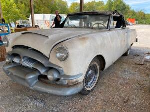 "1954 Packard ""Caribbean"" Convertible - restoration project"