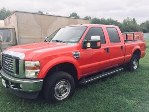 2009 Ford F-250 Pickup Truck, VIN # 1FTSW21R59EA92772