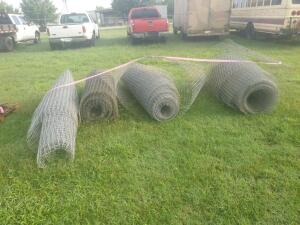 (4) Partial rolls of farm wire