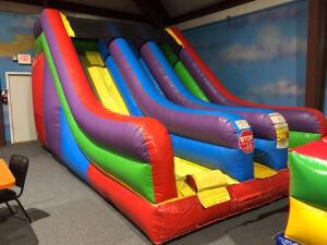 12ft Dual Lane Slide Inflatable