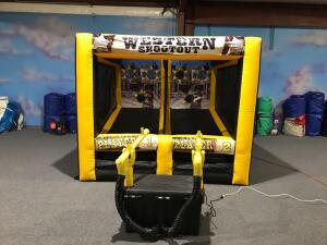 Western Shootout Inflatable Game Combo