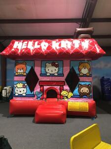 Hello Kitty Moonwalk Inflatable - 13x12