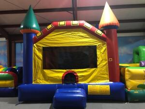 Fun Castle Moonwalk Inflatable