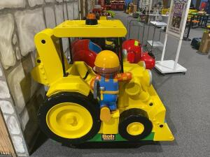 Bob the Builder Coin Operated Child's Ride