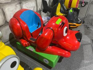 Clifford the Big Red Dog Coin Operated Child's Ride
