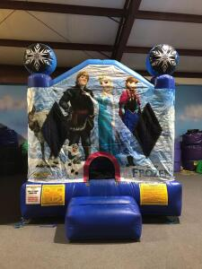 Small Frozen Moonwalk Inflatable - 10x10