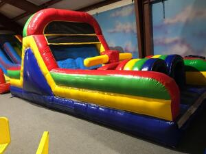24ft Obstacle Course Inflatable