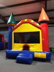 Small Fun Castle Moonwalk Inflatable - 13x12