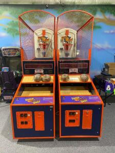 Namco Super Shot Double Basketball Arcade Game
