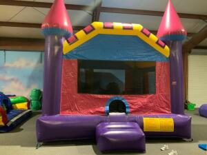 Dream Castle Moonwalk Inflatable