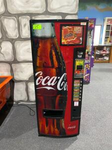 Dixie Narco Coca Cola Drink Machine