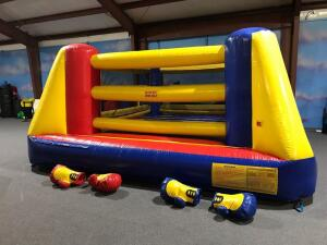 Box n Bounce Boxing Ring Inflatable Combo